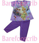 #631 NEW ARRIVAL FANCY PINK/PURPLE TINKERBELL & FRIENDS GIRLS Outfits Set 4+