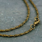 Antique Bronze 3D Knurled Coil Chain Necklace fancy Chain Necklace 2.4mm cn199