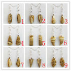 DX23 Pair Of Beautiful Picture Jasper Earring