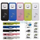 Ultraportable Ultralight Musical Note Long Clip-on MP3 Player with TF Card Port