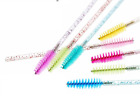 Pink Tapered Mascara Wands Brushes Disposable Eyelash Extension