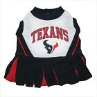 Houston Texans NFL dog pet sports Cheerleader Dress (all sizes)
