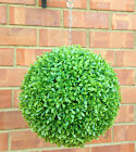 ARTIFICIAL SMALL LEAF BUXUS BOXWOOD GARDEN TOPIARY HANGING FAKE LIGHT GIFT