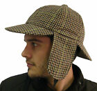 Campbell Cooper Brand New Classic Quality Deerstalker Sherlock Hat Ear Flaps