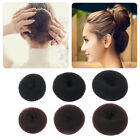 Women Bun Former Hair Styling Tool Bun Maker Ring Donut Shaper Soft Band Ring