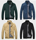 New Springtime And Autumn Men's Lie Fallow Short Jacket Coat