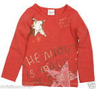 GIRLS THE NIGHT IS MADE OF STARS LONG SLEEVE TOP (T) 18-24,2-3,3-4,4-5,5-6