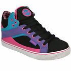 Pastry Womens Sire Colour Blocking Hi Top Trainers In Black From Get The Label