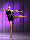Ballet Jazz Tap Dance Contemporary Costume NO BOUNDARIES Child XS Clearance!