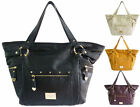 Women LYDC Designer Ladies Leather Style Tote Hobo Satchel Shoulder Handbag Bag