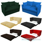 Fold Out 2 Seat Sofa Guest Bed Futon UK Made Budget Studio Furniture Student Dig