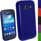Glossy TPU Gel Skin Case Cover Holder for Samsung Galaxy Ace 3 S7275 Screen Prot