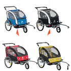 aosom bike trailer - Elite Aosom Double Baby Bike Trailer Stroller Child Bicycle Jogger Swivel Wheel