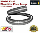 Multi-Fuel Stainless Steel Flexible Chimney Flue Liner for Wood Burning Stove