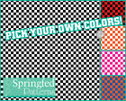 CHECKERED PATTERN VINYL #1 Craft Decal Sheets Scrapbook Checks CUSTOM COLORS!