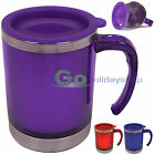 450ml Mug Cup Beaker Stainless Steel Inner Double Walled Coffe Hot Cold Drinks