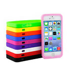 Multi-Color Silicone Skin Rubber Soft Protective Case For Apple iPhone 5s / 5