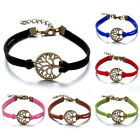 Gifts Wristband Leaf Hippie Retro Friendship Karma Wish Hope Bracelet