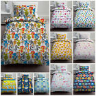 Childrens Single Size Kids Duvet Quilt Covers with Pillowcase Polycotton Bedding