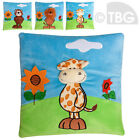 3D Cushion CUDDLY PET KIDS SOFT TOY HOLIDAY HEAD SUPPORT NECK PILLOW CARRY TOYS