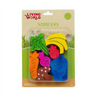 Living World NIBBLERS WOOD CHEWS Small Animals DENTAL HEALTH
