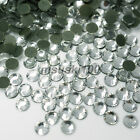 Hot Fix Glass Crystal Rhinestones Iron On Diamonds Flat Back Diamante Decoration <br/> &pound;0.99  - 24 colours 5 sizes - same day postage
