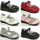 GIRLS WEDDING SHOES BABIES INFANTS PARTY BRIDESMAID CHRITENING BABY SHOES SIZE