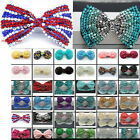 Girl's Gaga AliceHair Bow Clips Beaded Crystal Dancing Party Kids Bag Clip gift