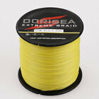 1000M 500M 300M 100M Agepoch Yellow Power Dyneema Dorisea Braided Fishing Line