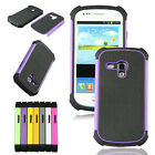 Mixed Rugged Rubber Hard Case Cover For Samsung Galaxy S3 III Mini i8190 Lot A