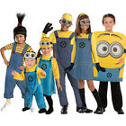 NEW Kids Official Despicable Me Minion Fancy Dress Up Costume Outfit Boys Girls
