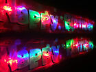 Flashing happy birthday banner party decorations glows bunting light up balloons