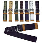 7colors New Mens Boys Influx Of Casual Canvas Double Pin Buckle Belts 110cm GB02