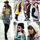 Womens Slim Warm Zipper Hoodie Vest Cotton Cap Hat Waistcoats Coats Outwear EA