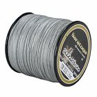 Super Strong  8Strands Braided Dyneema Sea Fishing Line Agepoch 100M Grey
