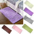 Large 60x120cm Living Room Floor Mat Soft Bath Rug Fluffy Carpet Chenille Plain