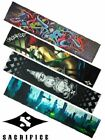 """Sacrifice Stunt Complete Scooter Deck Quality Board Grip Tape - 21 x 4.5"""" Sheet"""
