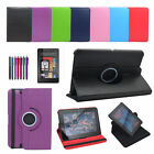 Leather 360° Rotating Stand Case Cover for KINDLE FIRE HD 7 Generation 2012