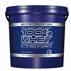 100% WHEY PROTEIN*5000g/5kg With Extra Amino Acids -Scitec Nutrition
