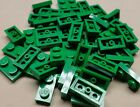 x50 NEW Lego Green Baseplates 1x2 Brick Building Plates