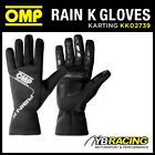 NEW! KK02739 OMP RAIN K GLOVES for OUTDOOR KARTING NEOPRENE RAINPROOF in 4 SIZES