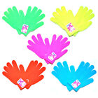 Neon Bright Winter Mittens Gloves