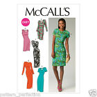 McCall's 6886 Easy Sewing Pattern to MAKE Misses' Close Fitting Pullover Dresses