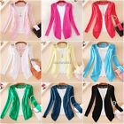 NEW Women Lace Sweet Candy Crochet Knit Top Sweater Cardigan Shirt Long Sleeve U
