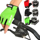 CYCLING BIKE BICYCLE HALF FINGER FINGERLESS GEL SILICONE GLOVES SIZE M-XL