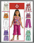McCall's 5308 OOP Sewing Pattern to MAKE Tops Dress Shorts Capri Ages 6-8
