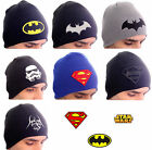Superhelden Beanie Mütze Superman - Star Wars- Batman - Star Trek Herren