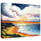Art Wall Gene Foust 'Summer Breeze' Gallery-wrapped Canvas Art