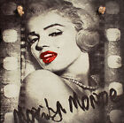 Handmade Shabby Chic picture plaques. Audrey Hepburn,  Marilyn Monroe, Hollywod