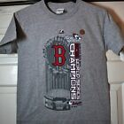 BOSTON RED SOX 2013 WORLD SERIES OFFICIAL LOCKER ROOM YOUTH SHORT SLEEVE TSHIRT